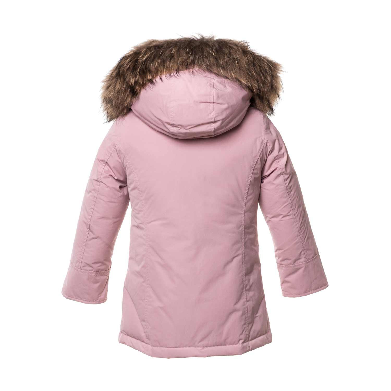 Cappotto Bambina Online Parka Woolrich Shop Rosa AqZw4 321d40e011ff