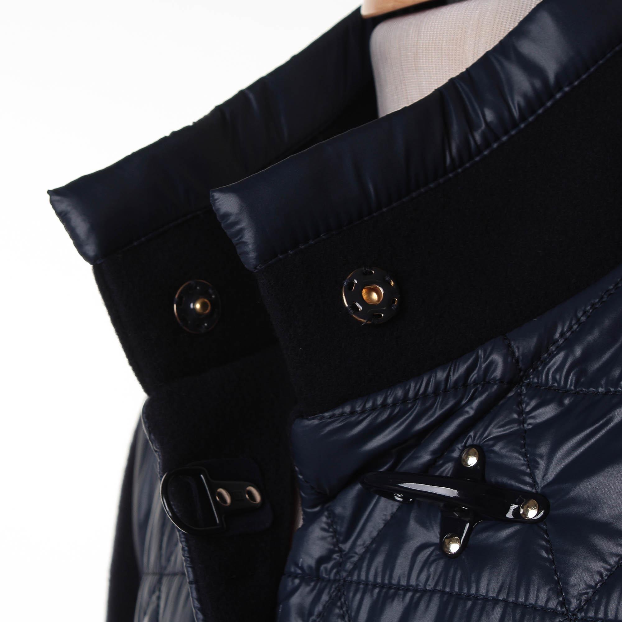 the latest fe64d 2b5a8 Virginia Coat Misto Lana Piumino Blu