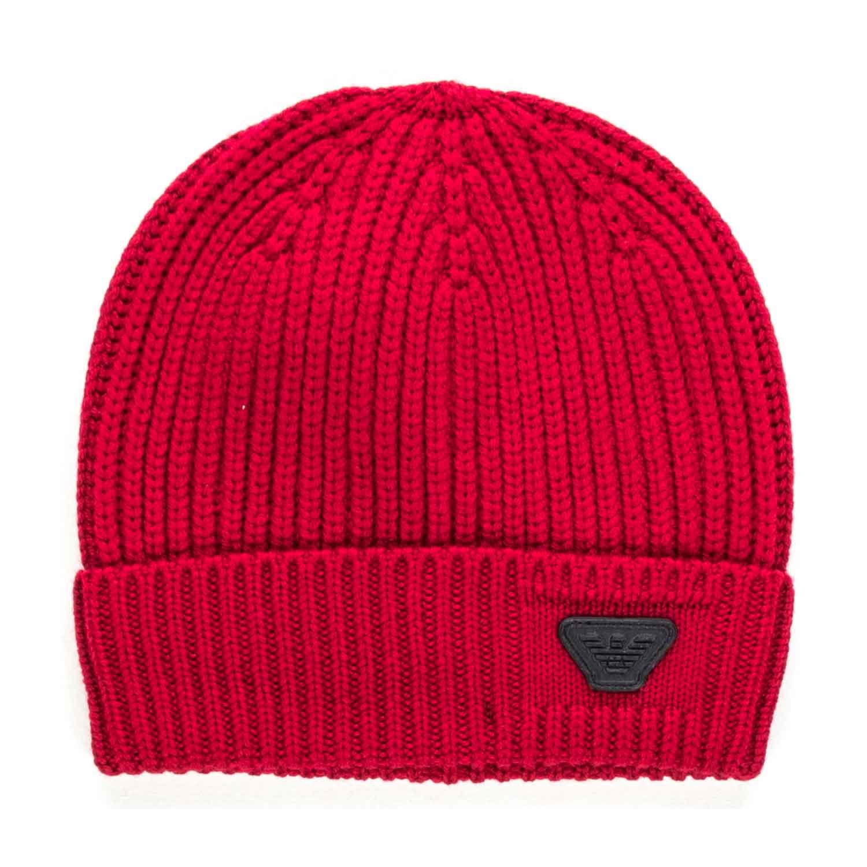 6e802b1d92c Armani Junior - Boy Red Wool Hat - annameglio.com shop online