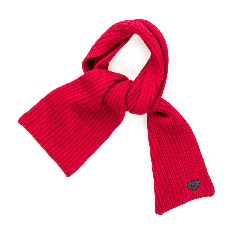negozio online db373 6990b Sciarpa Rossa Logo Bambino