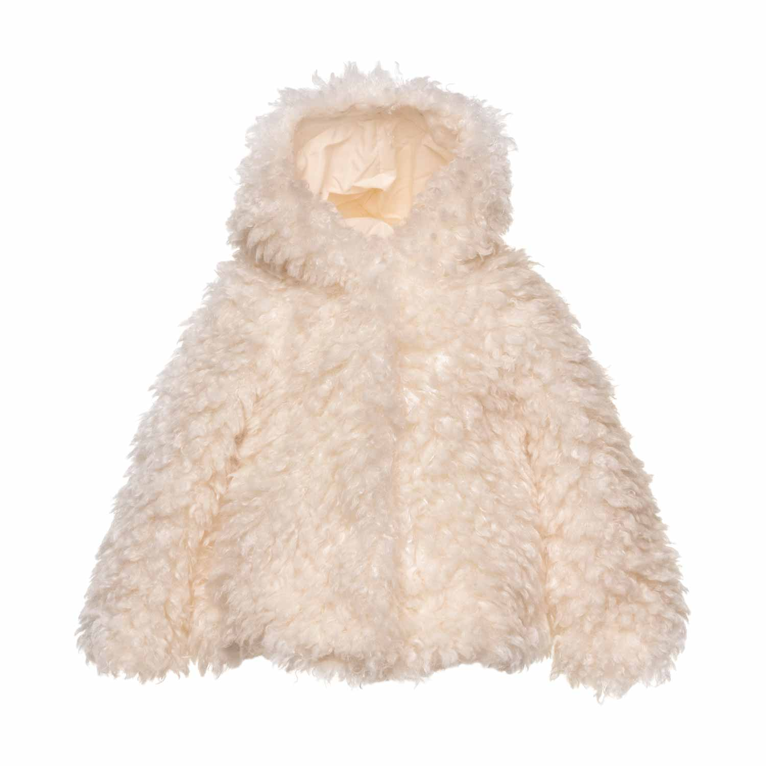 05db53b793d3 Monnalisa - Baby Girls Faux Fur Coat - annameglio.com shop online
