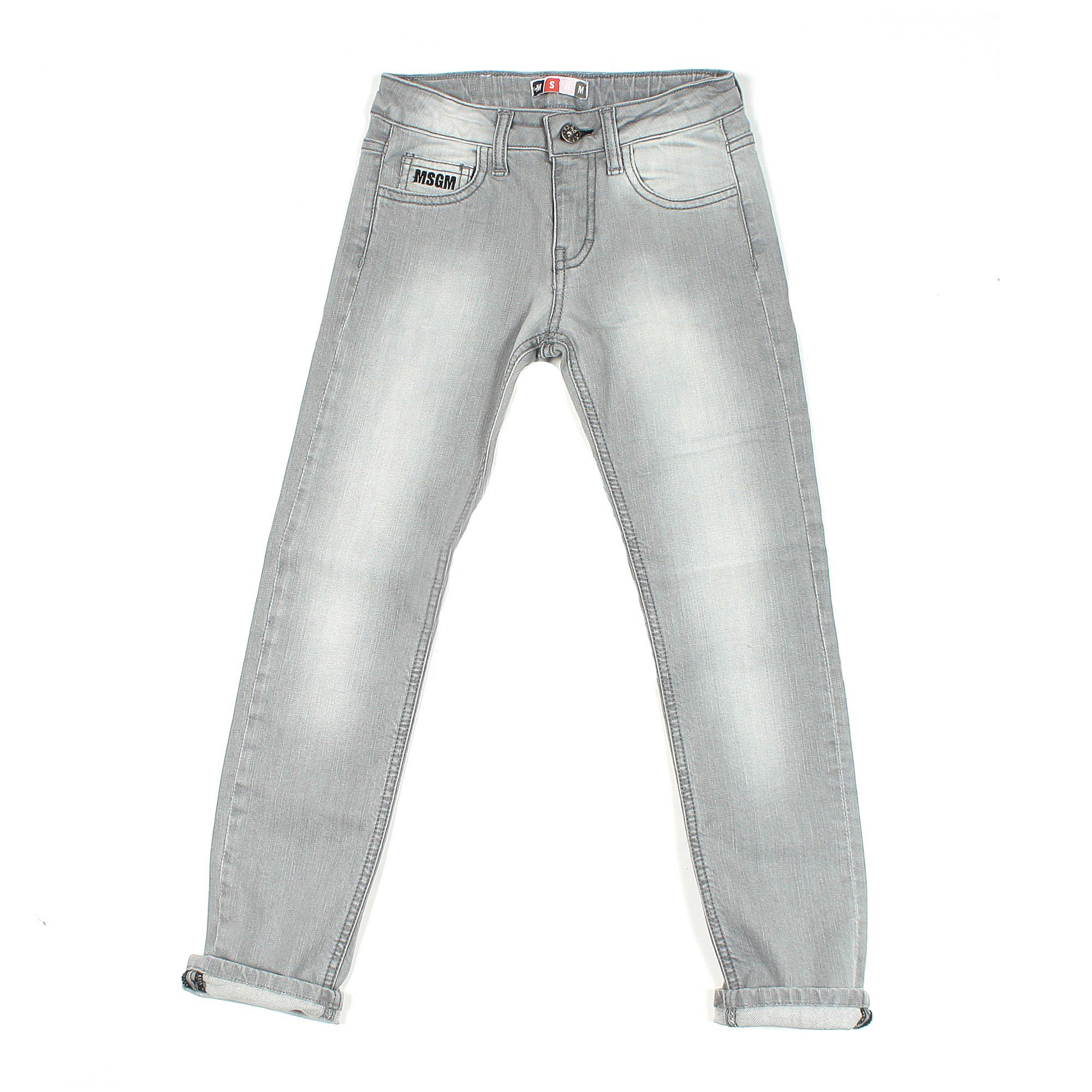 a779698788 Jeans Stretch Grigio Stone Washed