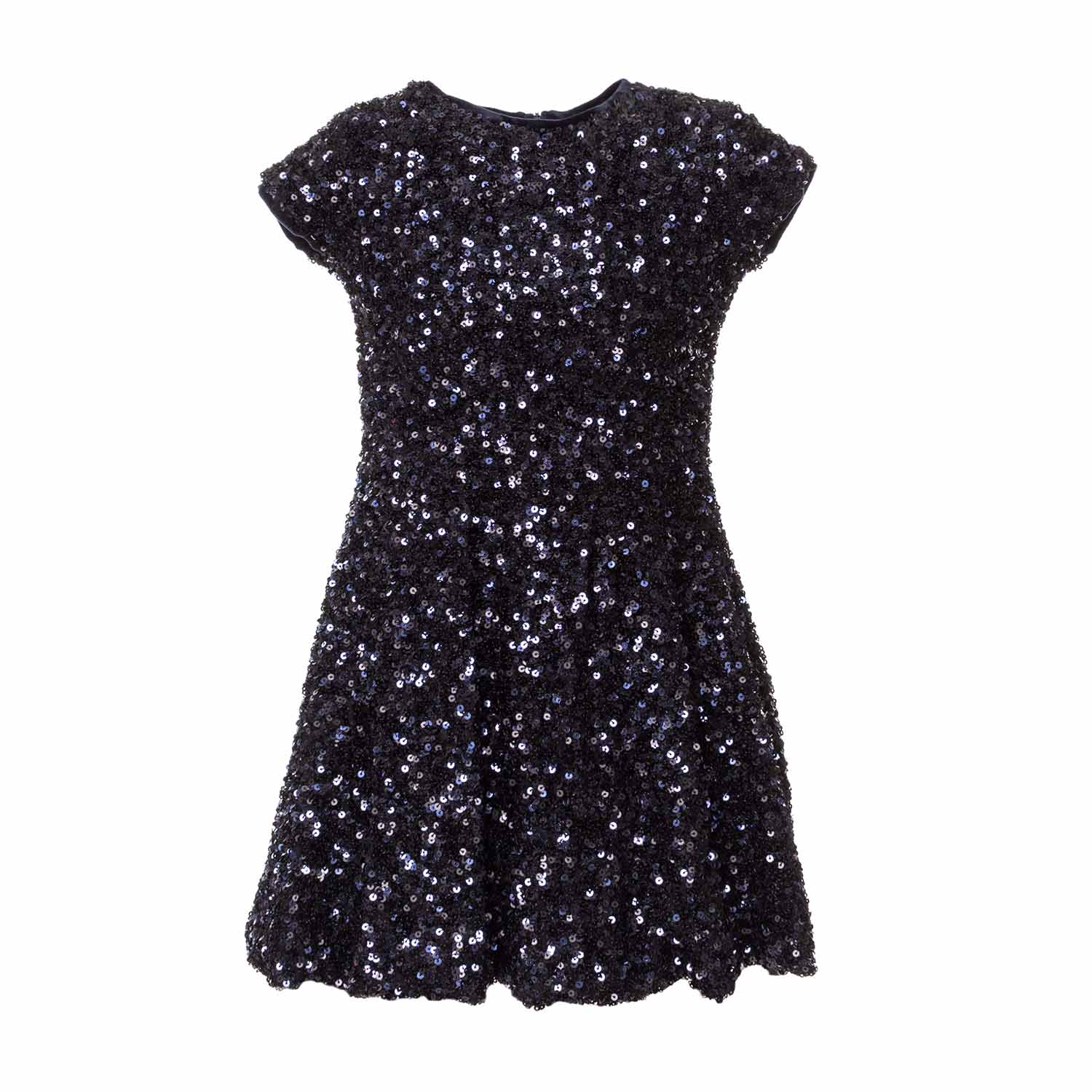 9d32b0108339 Elsy - Girl Blue Sequin Dress - annameglio.com shop online