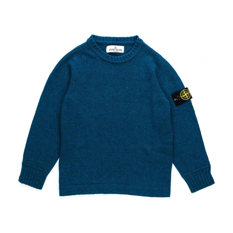 informazioni per 7c95d 4546a Stone Island - Boys Wool Blend Pullover - annameglio.com shop online