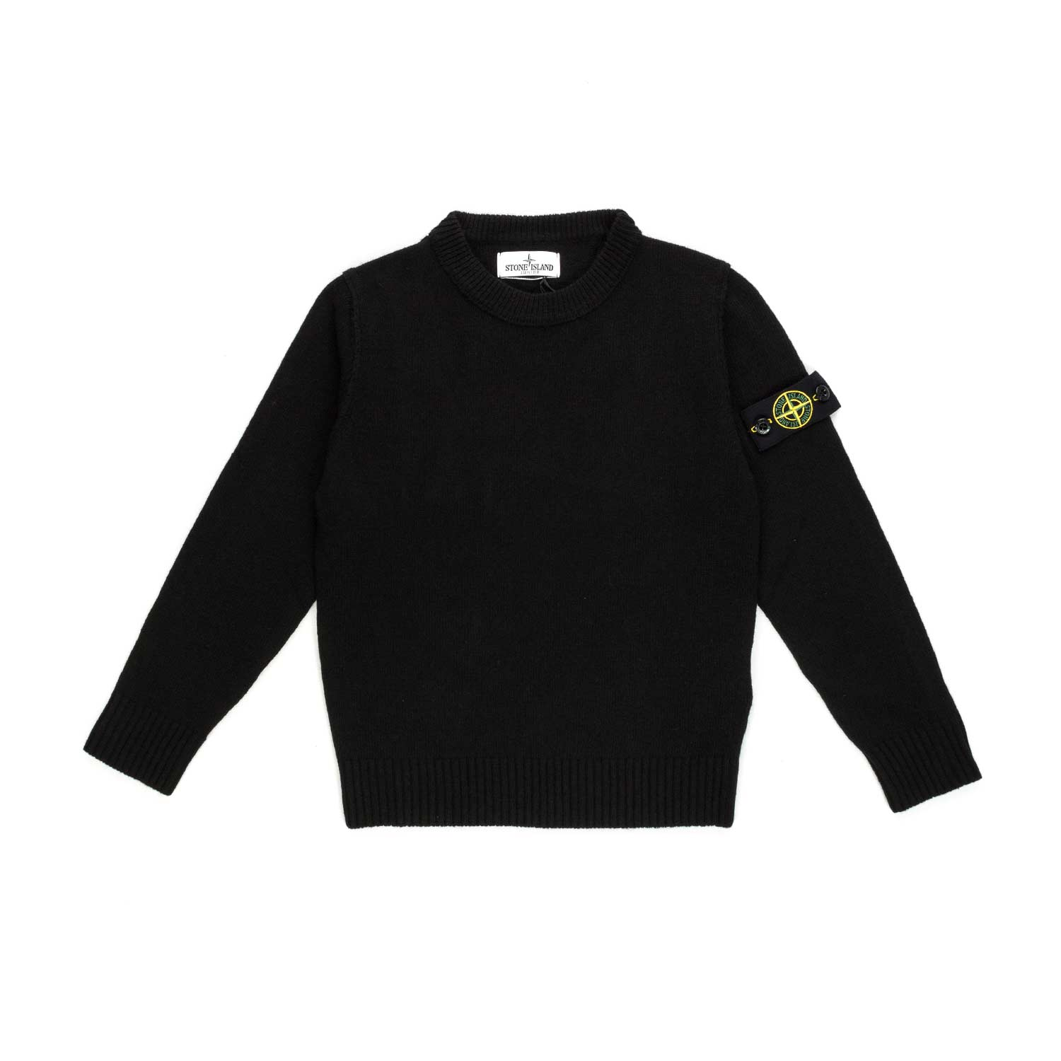 Home · STONE ISLAND · Cardigans Sweater Jumpers  Black Pullover For Boys.  27073-stone island pullover nero bambino boy-1.jpg 0fd199be2