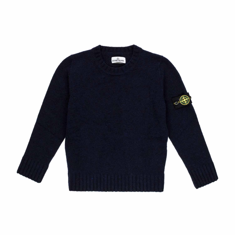 save off 593b8 7b3d9 Boy Blue Wool Blend Jumper