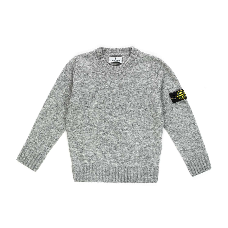 premium selection 8bbbd 15834 Boy Grey Wool Blend Jumper