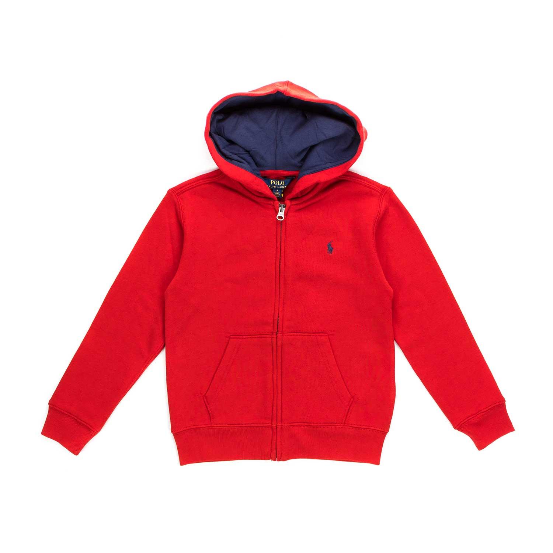 on sale 971b1 fe71e Felpa Rossa Bimbo Teen