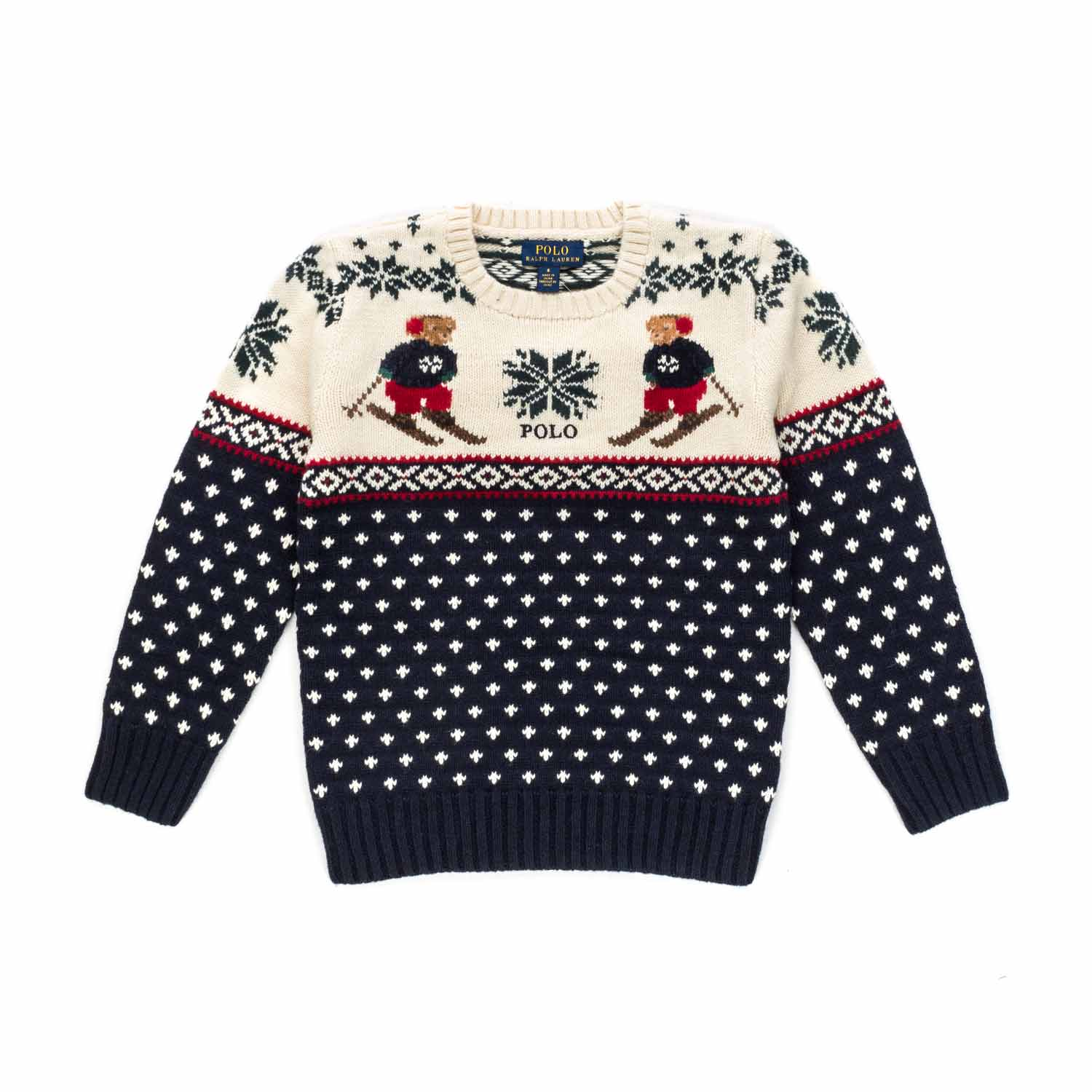 huge discount 466af f02a5 Maglione Polo Bear Bambino