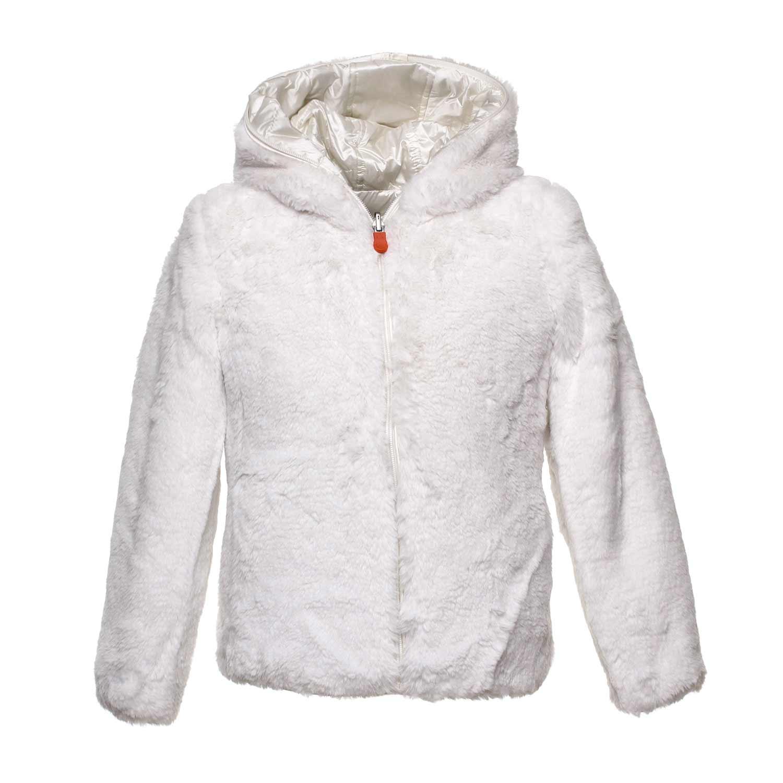 size 40 41d06 4889e Piumino Bianco Reversibile Girl