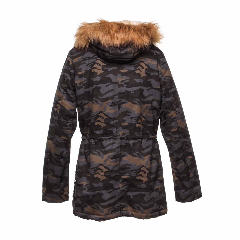 Online Bambina Shop Camouflage Parka Pinko Teen qwY1xz