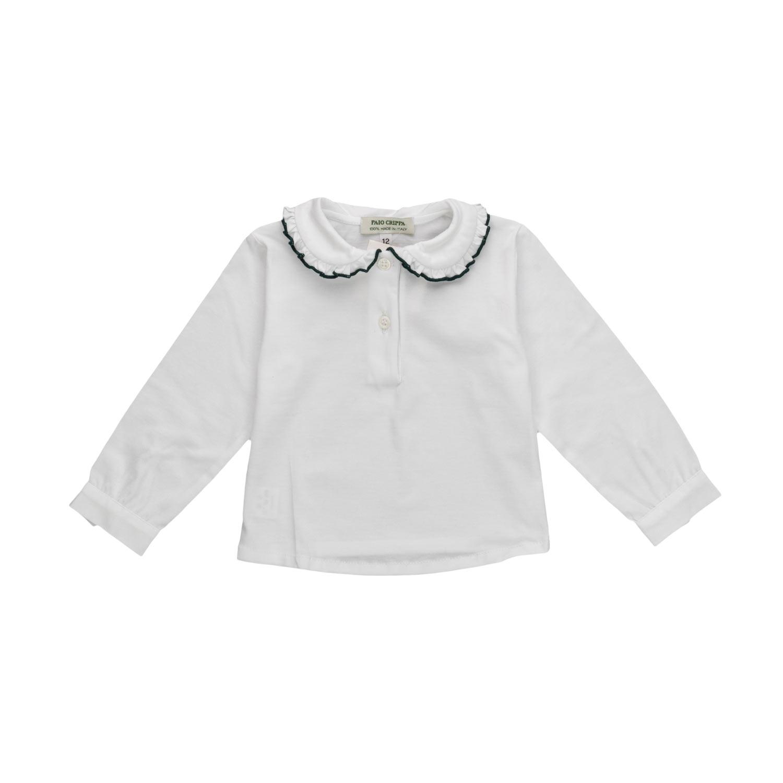 720017a38cf1 Paio Crippa - Cotton Blouse For Baby Girls - annameglio.com shop online