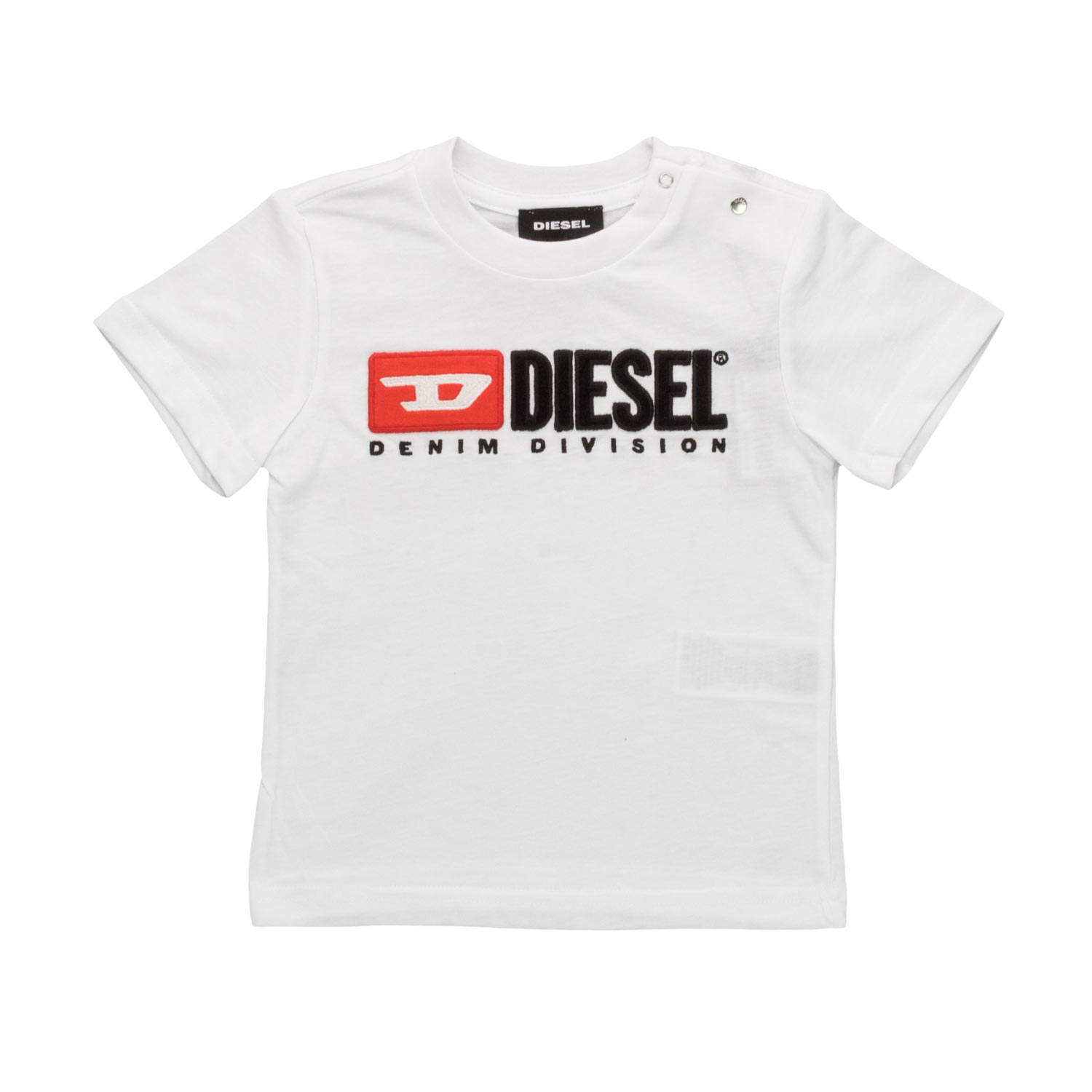 b58285470 Diesel - Baby White T-Shirt With Logo - annameglio.com shop online