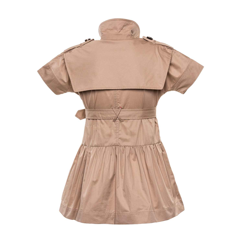 5a12a4b78 Burberry - Cotton Trench Dress For Girls - annameglio.com shop online