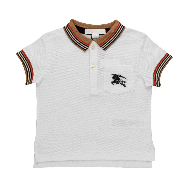 4bc168664 Burberry - Logo Polo Shirt For Baby Boys - annameglio.com shop online