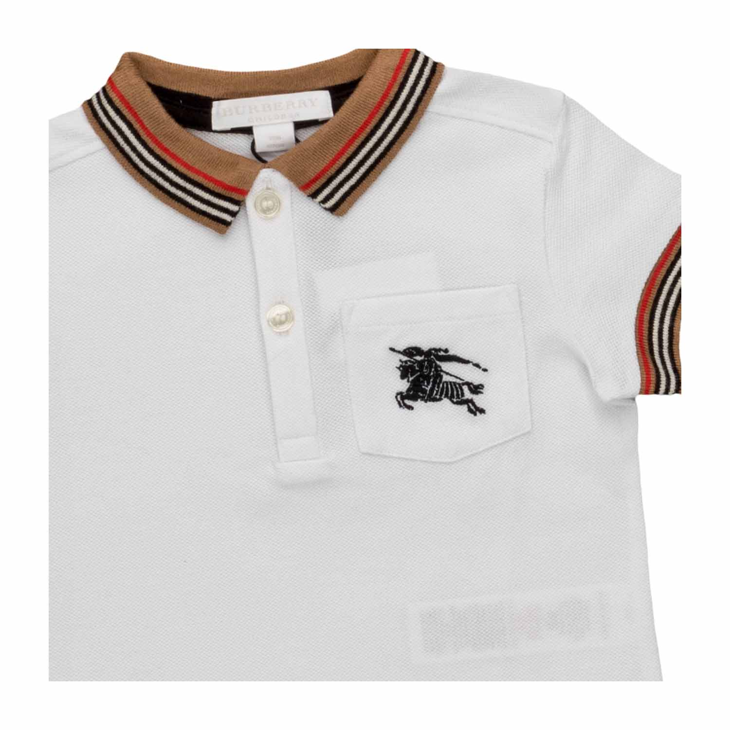 df6a538a7 Burberry - Logo Polo Shirt For Baby Boys - annameglio.com shop online