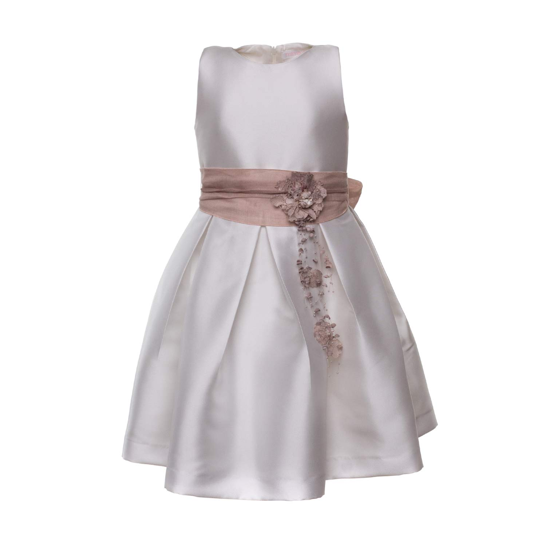 Vestiti Eleganti Bambina 9 Anni.Mimilu Abito Bianco Elegante Bimba Teen Annameglio Com Shop Online