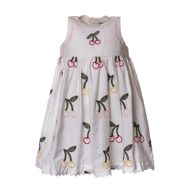1a349a208a Stella Mccartney - Baby Girl Cherry Dress - annameglio.com shop online