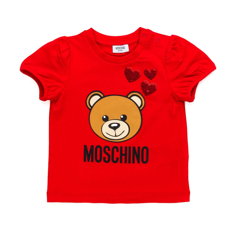 b224a10b9b2 ... Baby Girl Teddy Bear Red T-Shirt.  27930-moschino_maglia_con_orsetto_neonata_bim-1.jpg