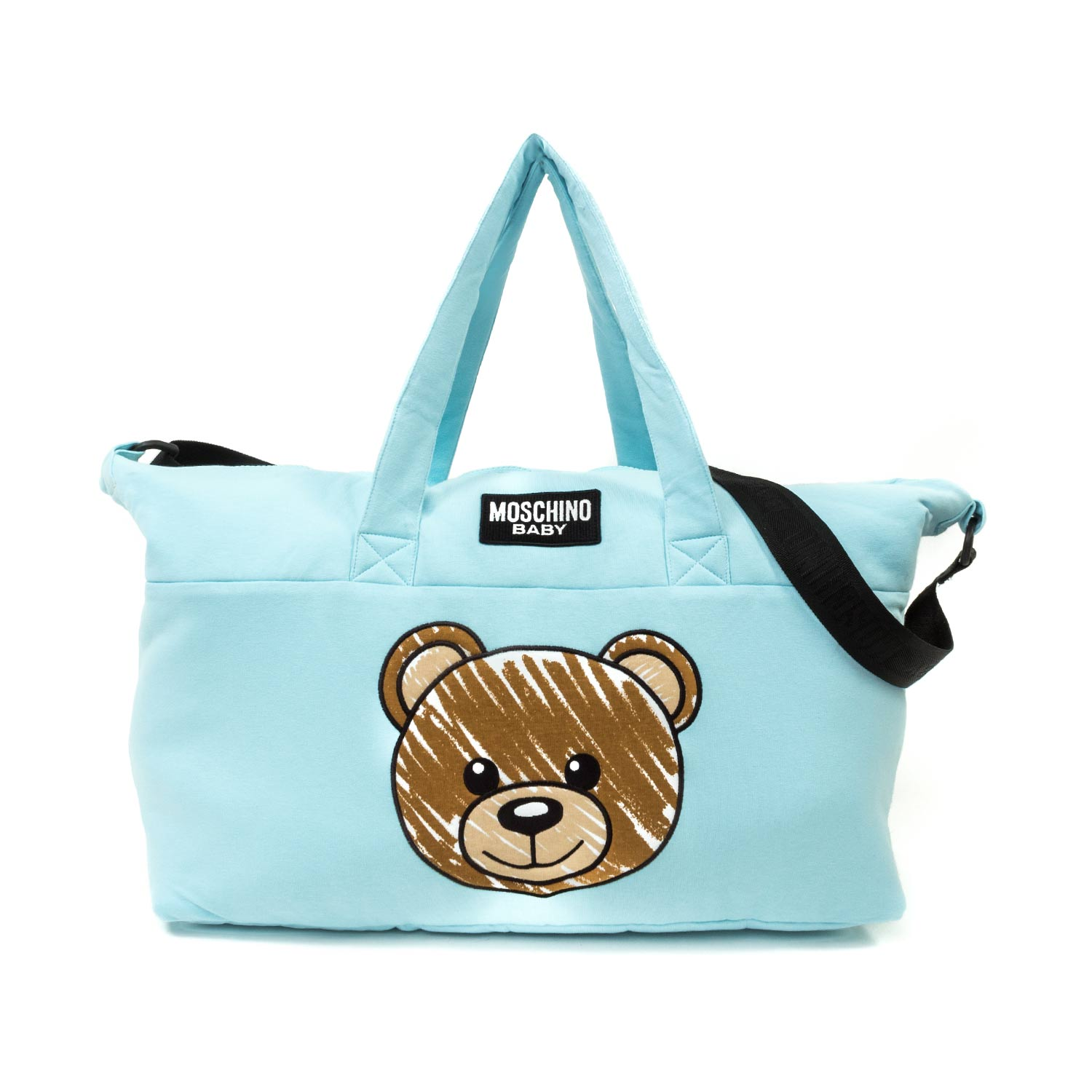 58444a66ec Moschino - Mommy Bag With Teddy Bear Logo - annameglio.com shop online