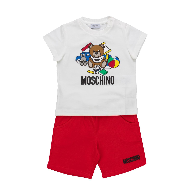 da4d767f5 Moschino - Baby Boy Shorts And T-Shirt - annameglio.com shop online