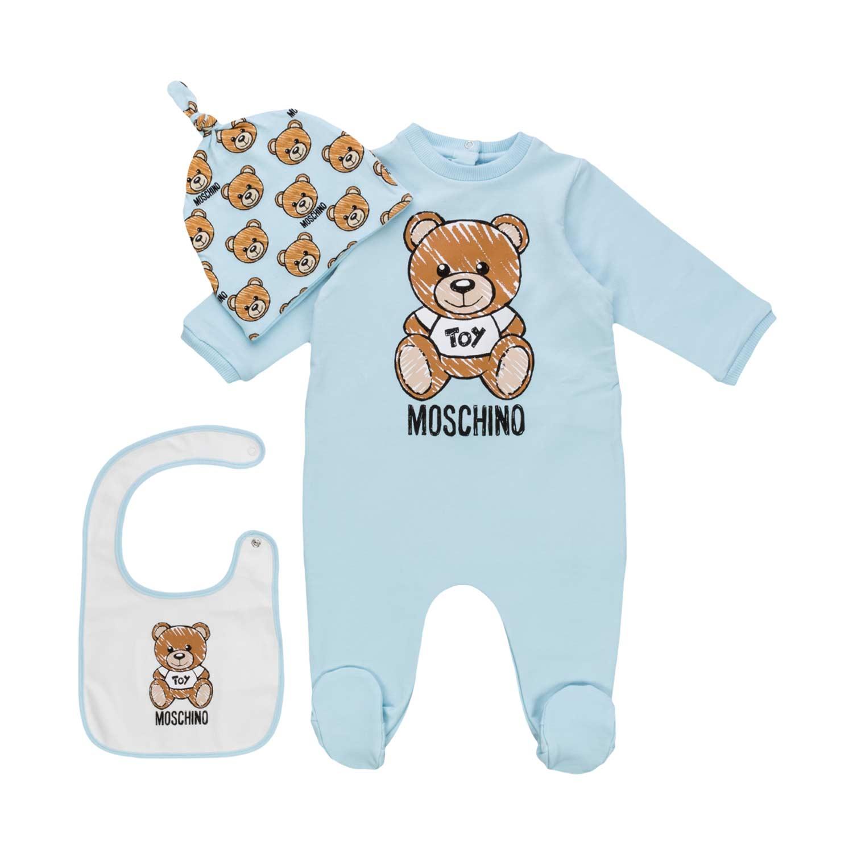 137f30309186 Moschino - Gift Set For Baby Boys - annameglio.com shop online