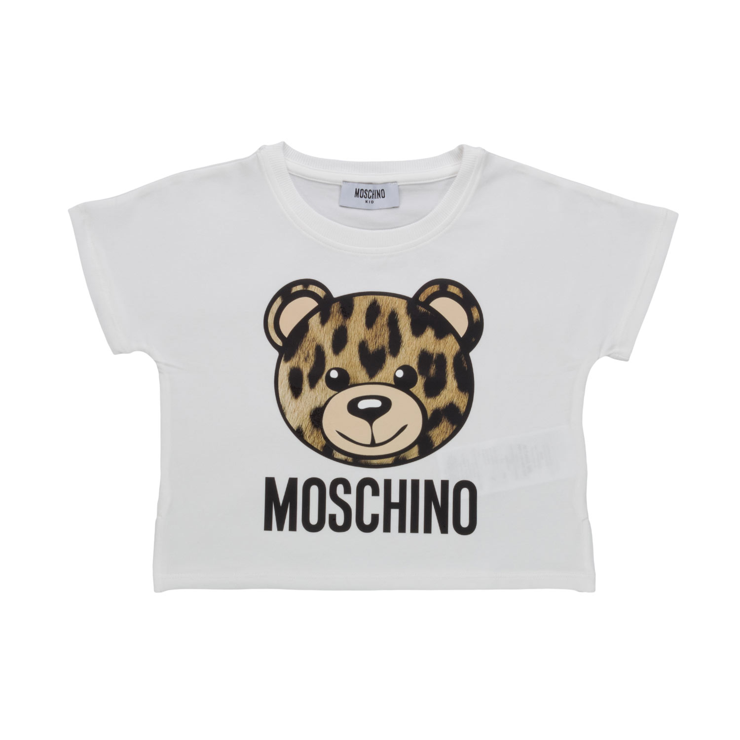 652c252dc75 Moschino - White Crop Top For Girls - annameglio.com shop online