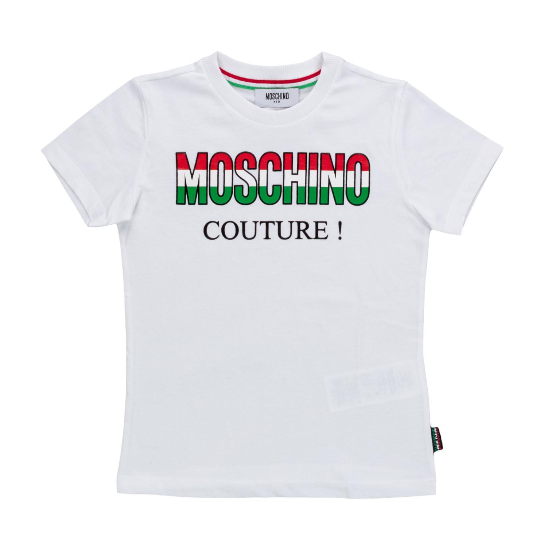 7a6579802d9 Moschino - Unisex Italian Logo T-Shirt - annameglio.com shop online
