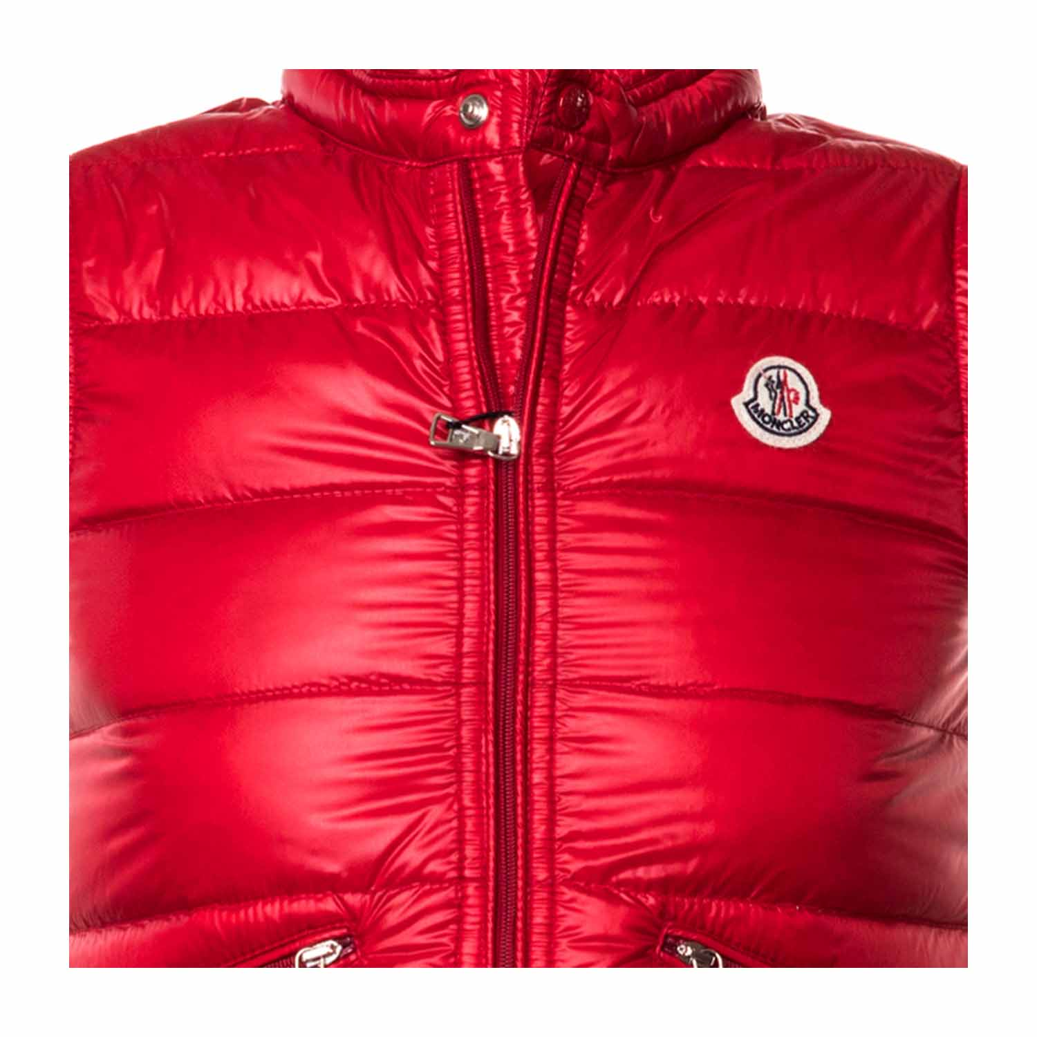 1907b9f8d Moncler - Red Logo Body Warmer For Boys - annameglio.com shop online
