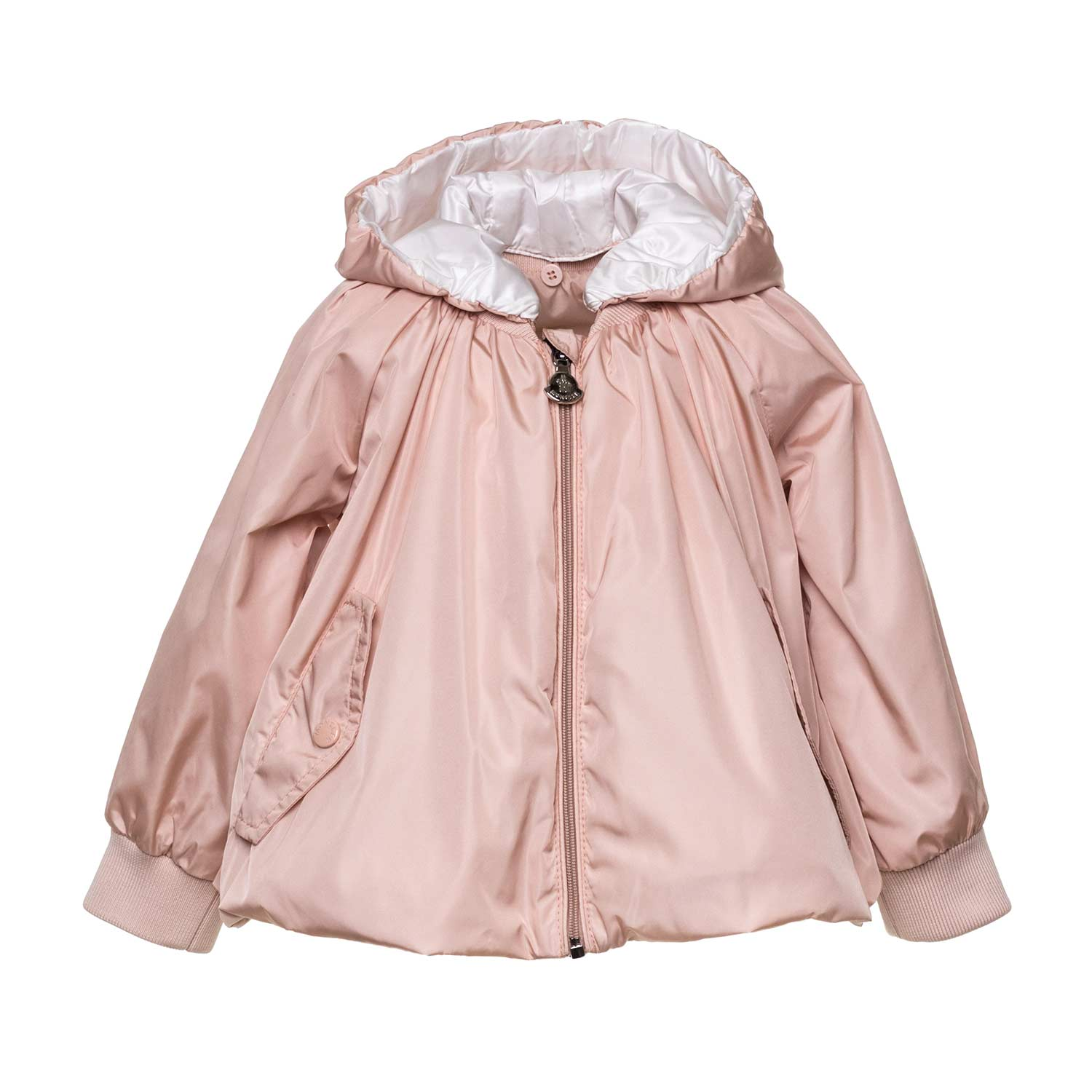 5669c44b0 Moncler - Pink Remire Jacket For Baby Girls - annameglio.com shop online