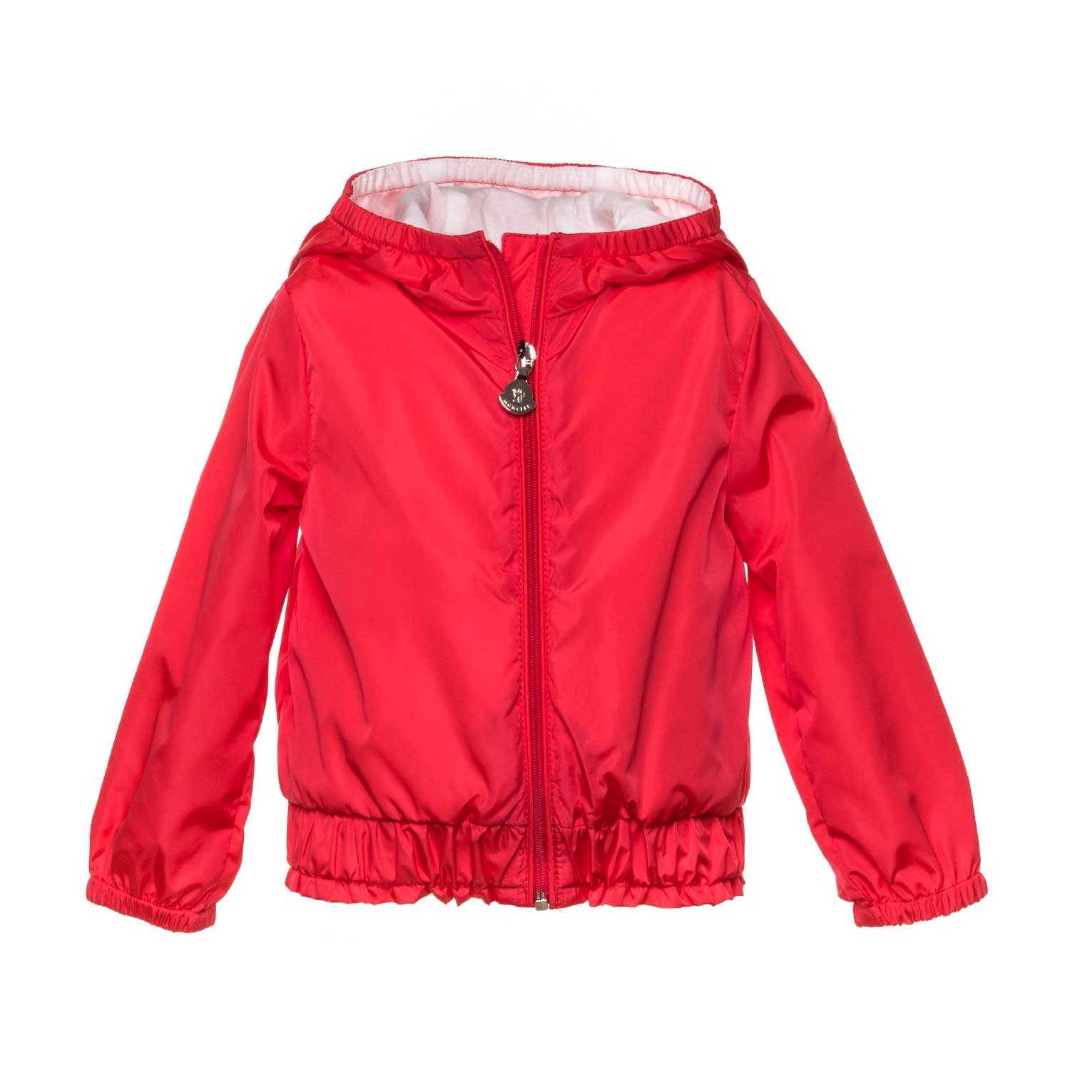 c2ef20b734ff Moncler - Red Poema Jacket For Baby Girls - annameglio.com shop online