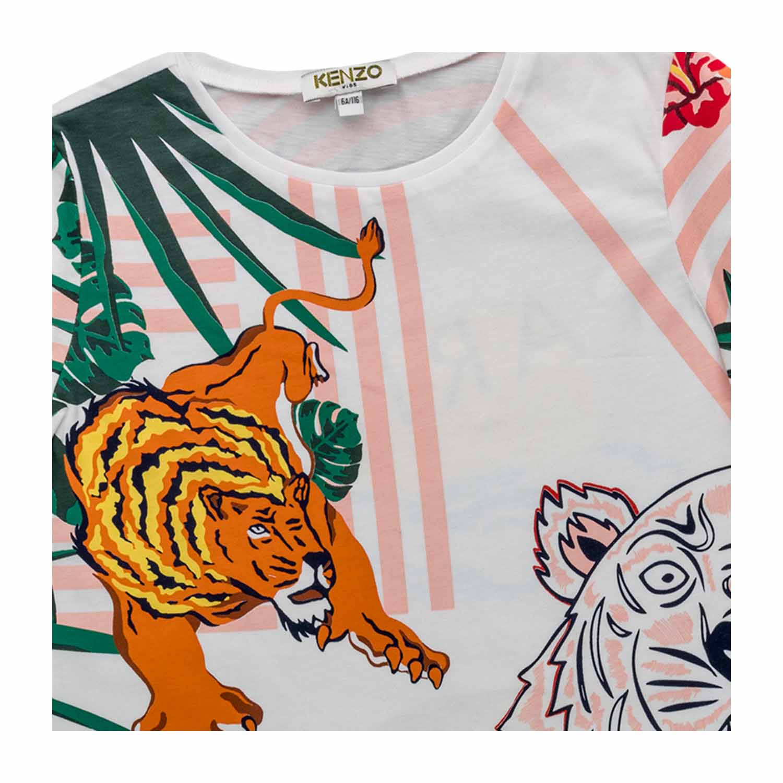 buy online 9b3c7 4b024 T-Shirt Tiger Bambina Teenager