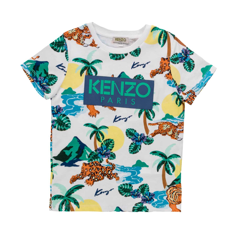 dc404bd08 Kenzo - Hawaii T-Shirt For Boys - annameglio.com shop online