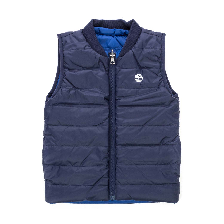 2bbda7090109 Timberland - Blue Down Vest For Boy - annameglio.com shop online