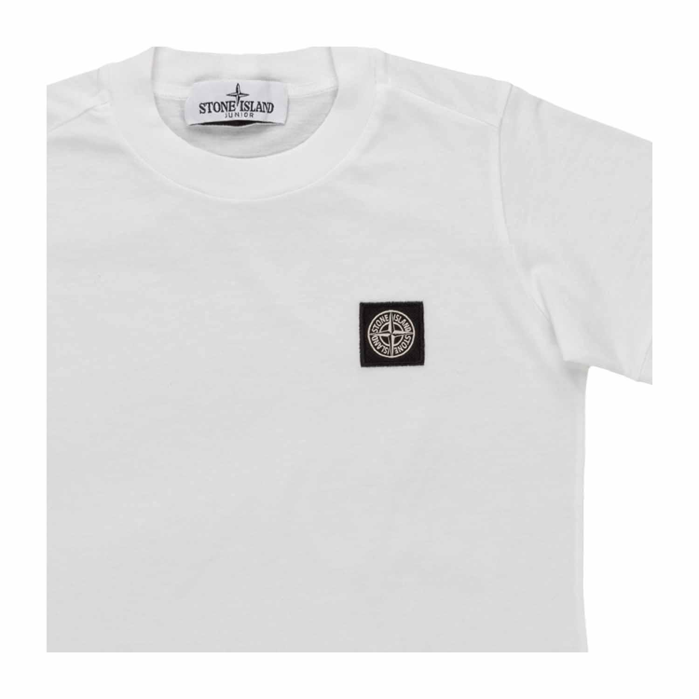 informazioni per e031f a069a Boys White Cotton T-Shirt