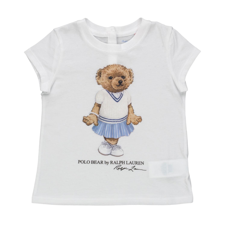 bbe2b7cd Baby Girl Polo Bear T-Shirt