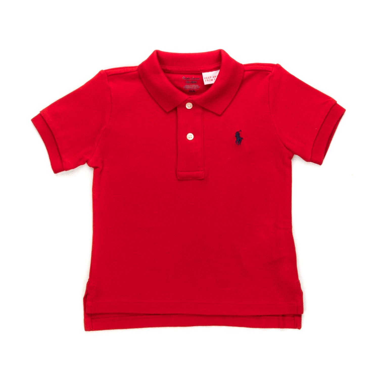 b9ea6dd77b75c ... Baby Boys Red Polo Shirt.  28341-ralph lauren polo rossa bimbo neonato-1.jpg