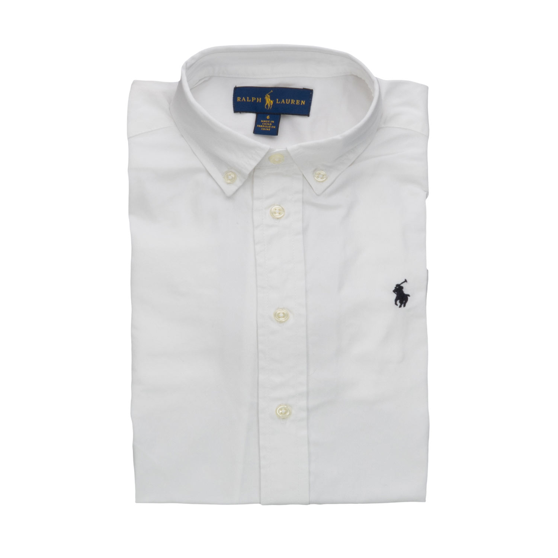 sale retailer b49c8 55520 Camicia Bianca Oxford Boy