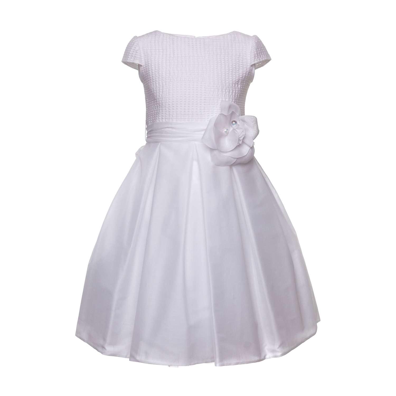 free shipping 3b9fe d54ba Abito Bianco Bambina Cerimonia