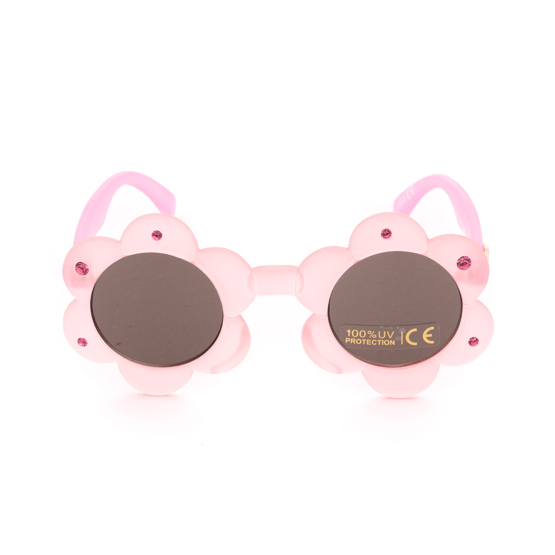 aliexpress acquista per il meglio disponibile Occhiali Da Sole Rosa Bambina