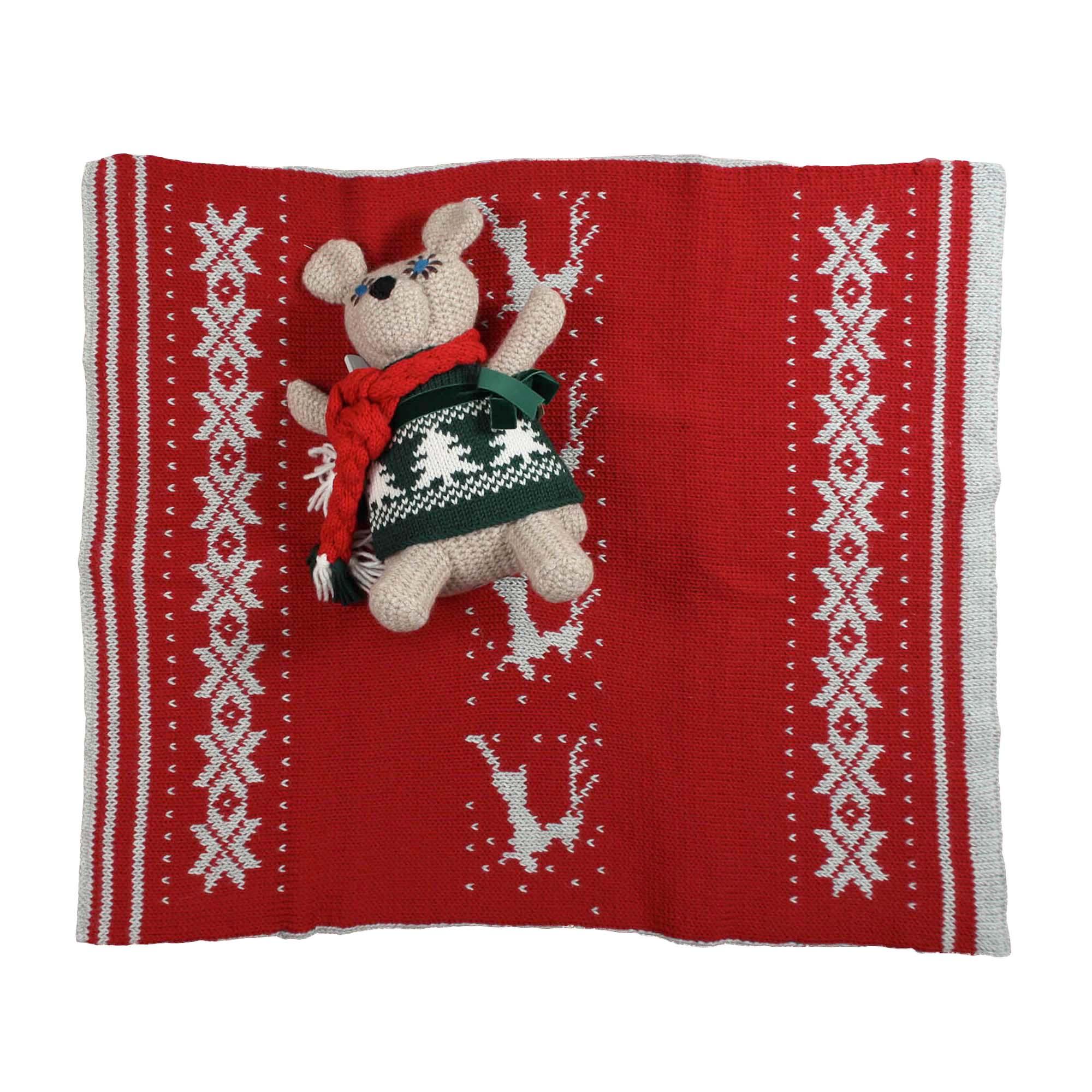 Zoo di lana coperta kraffen in lana ecologica for Piani di coperta online