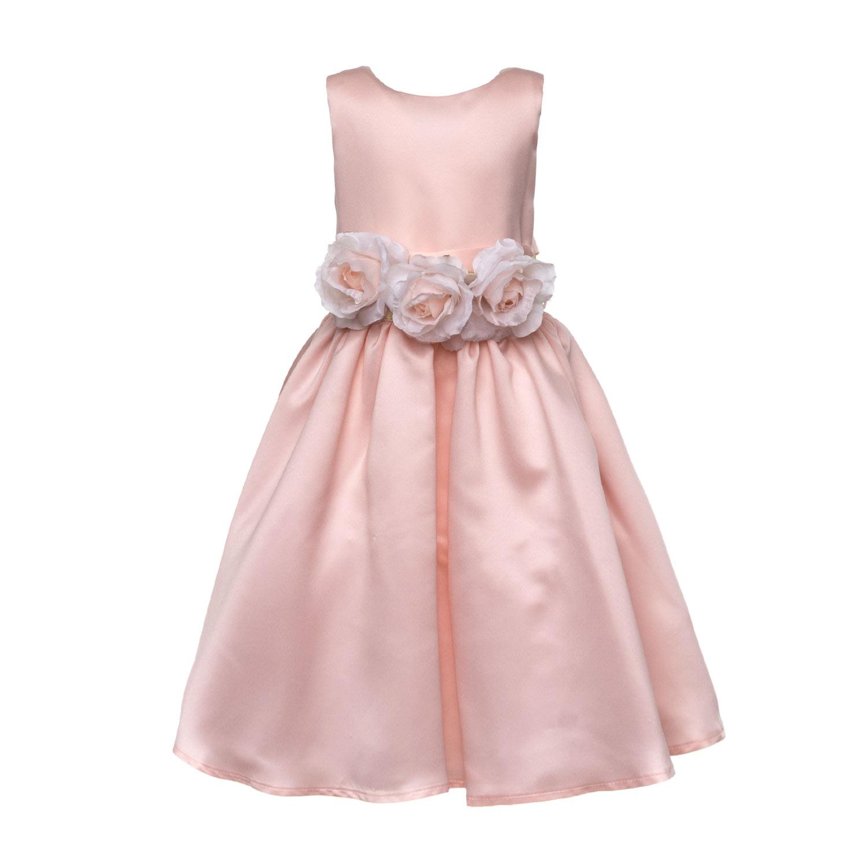 sale retailer 9786e bc14b Abito Elegante Rosa Bambina