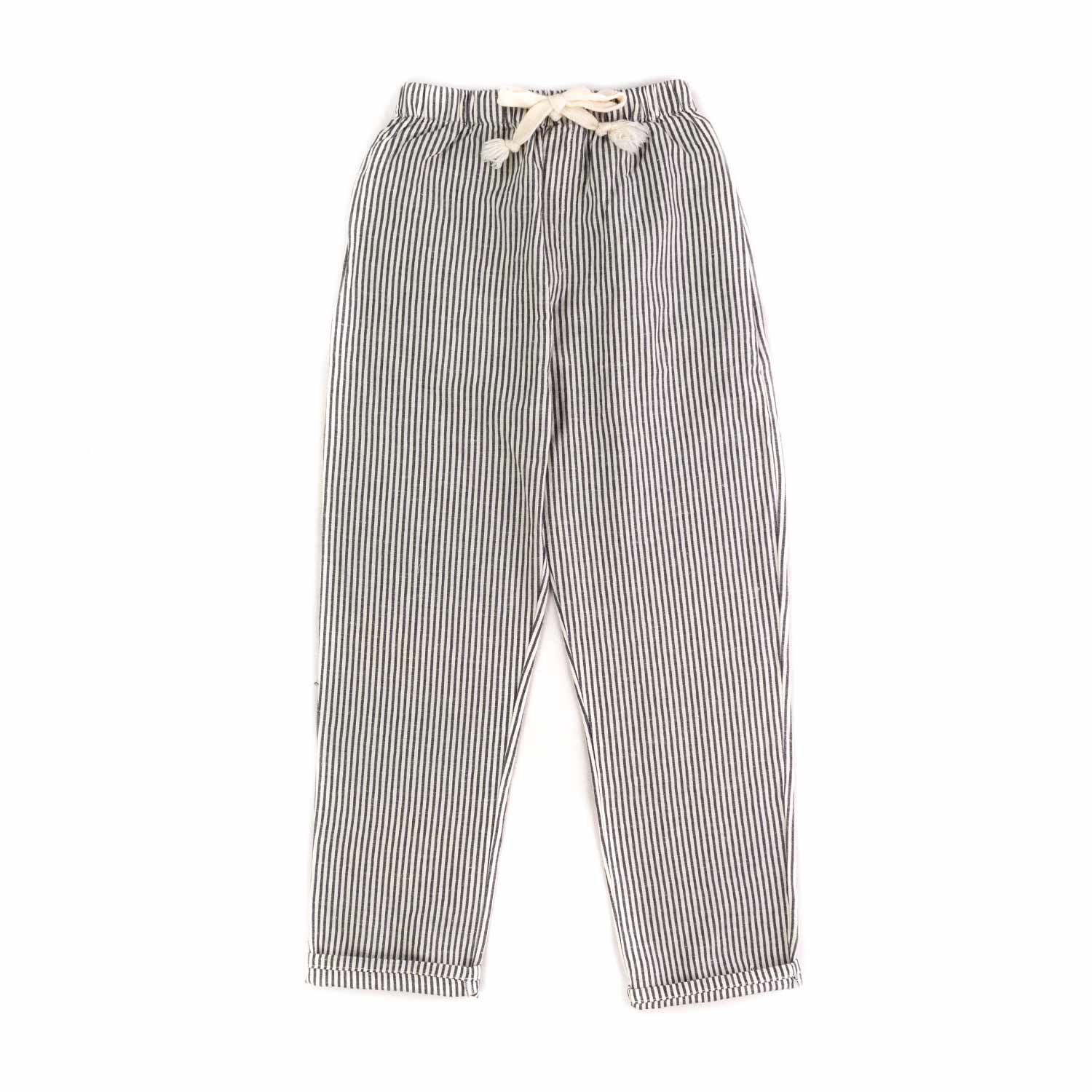 d0696ee3bea8 Tocotò Vintage - Girls Blue Striped Trousers - annameglio.com shop ...
