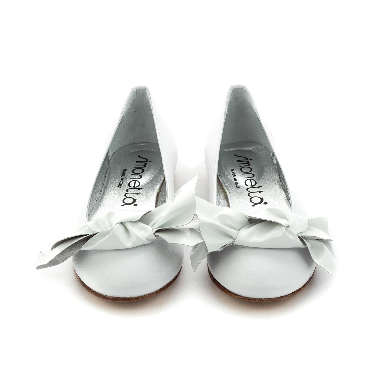 innovative design 41e9d bc4a5 Scarpe Bianche Eleganti Bambina Teen