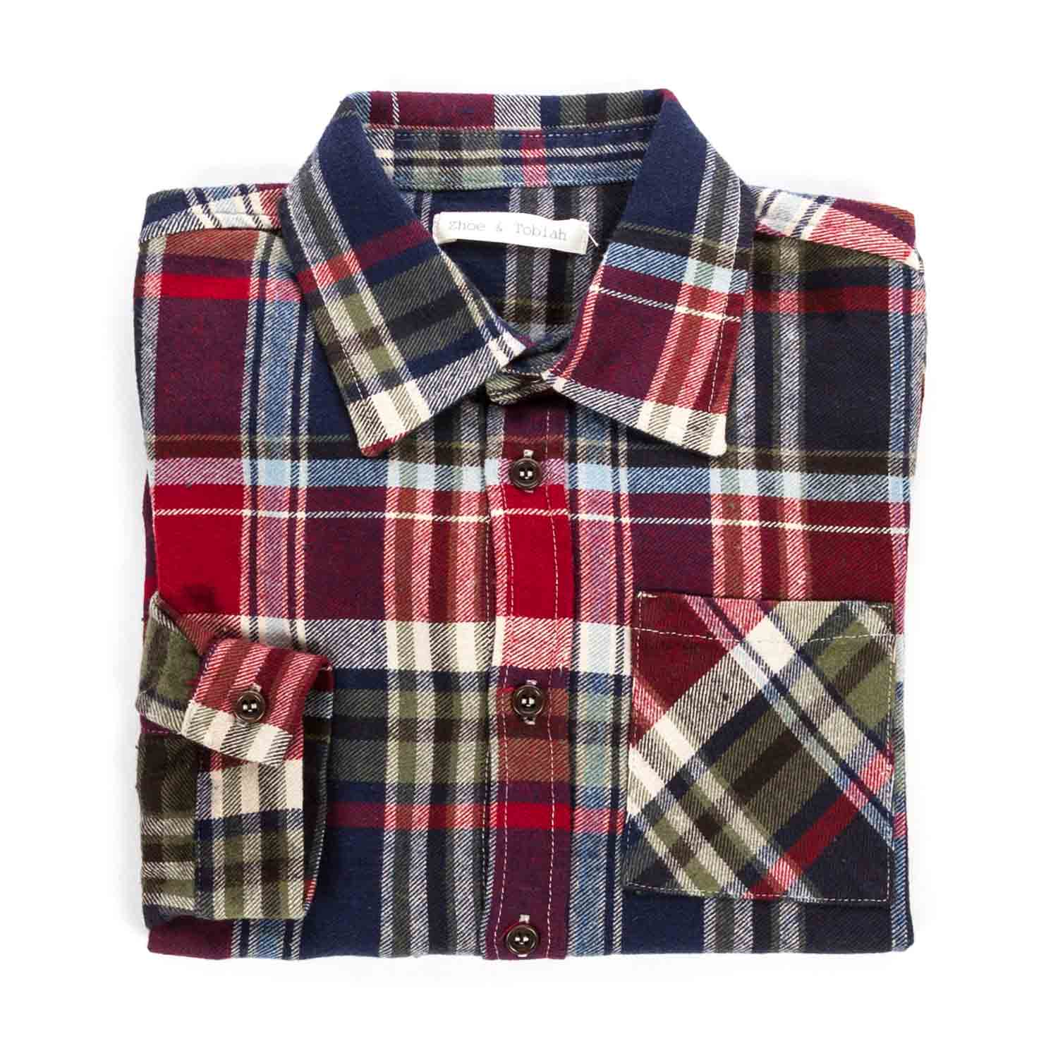 low priced b06f7 fdac9 Camicia A Quadri Per Bambino