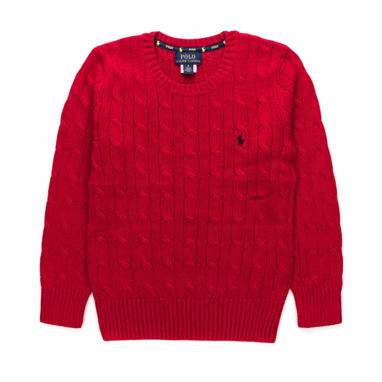 nuovo autentico 100% di alta qualità grande varietà Maglioncino Rosso Bambino Teen