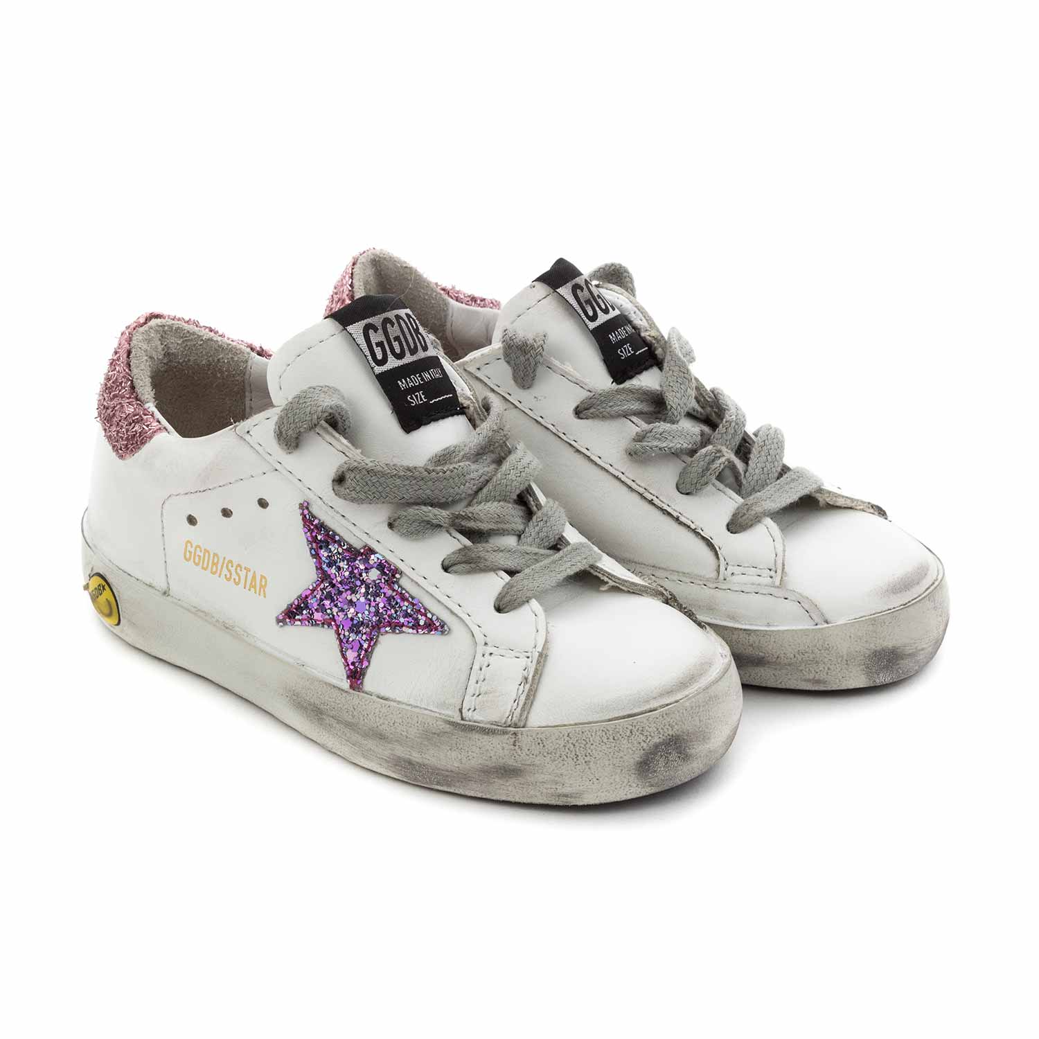 best service a16e1 98cab Baby Girl Superstar Sneakers