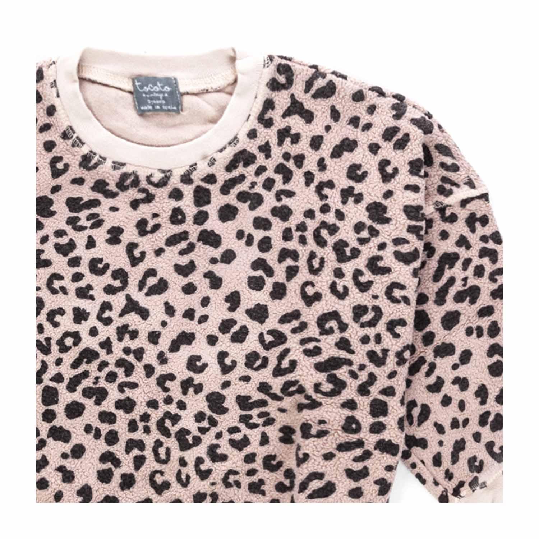 felpa nike donna leopardata