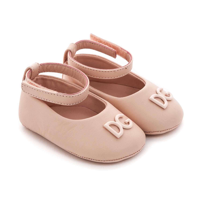 Baby Girls Pink Ballerina Shoes