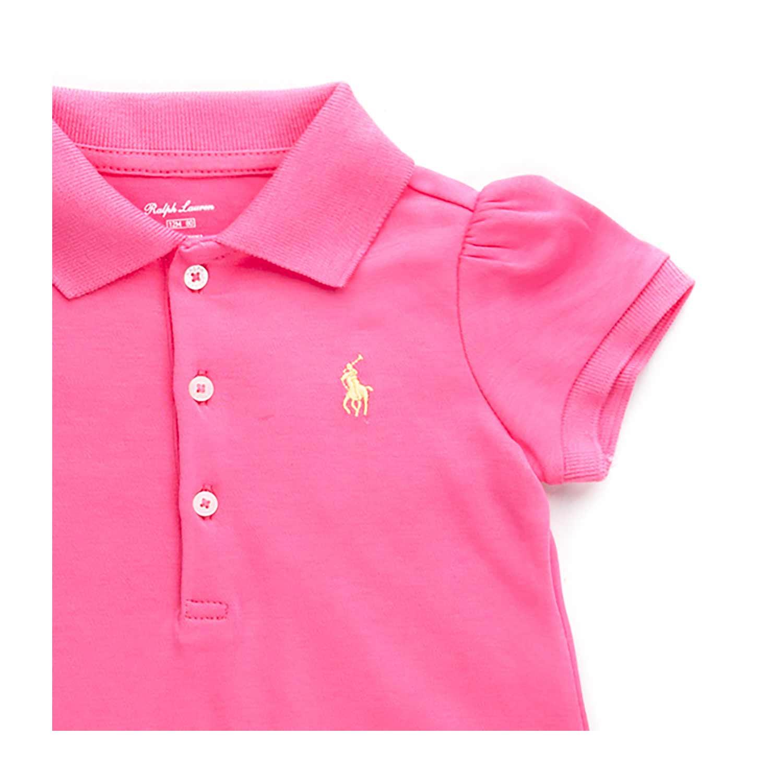 SCHNULLERPIRAT Baby Polo pink